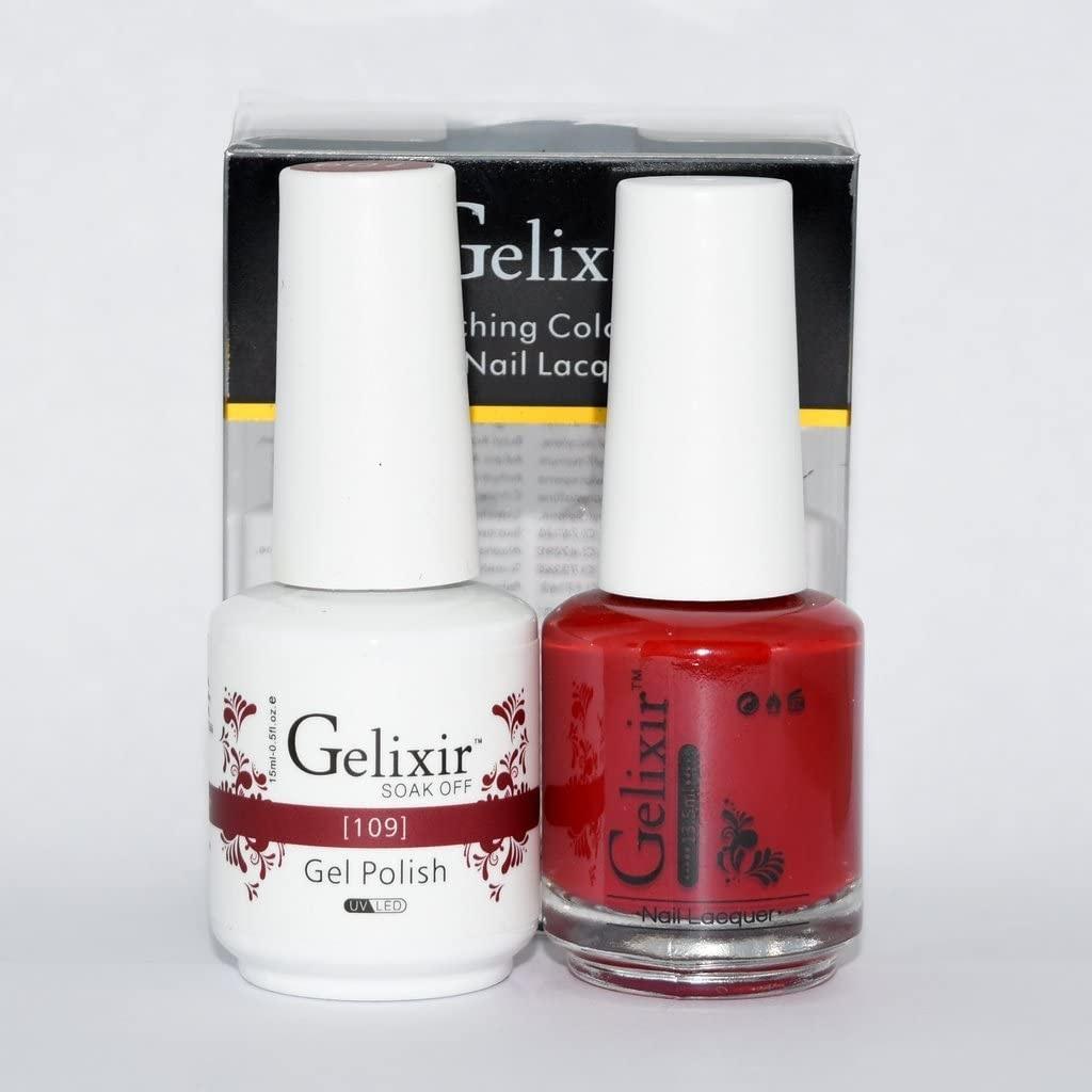 Benefits of Gelixir Nail Polish Manicure